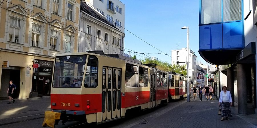 Vienna to Bratislava day trip is very easy because of many transportation options.