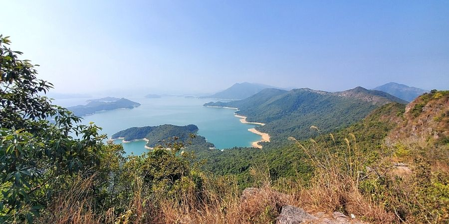 The best view along the Plover Cove Hike is at Luk Wu Tung.