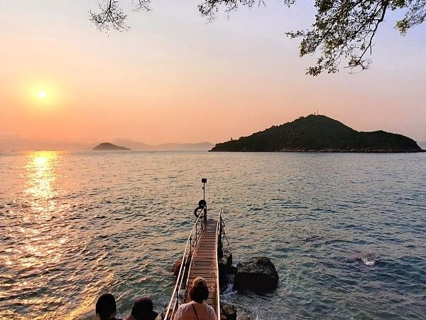 Sai Wan Swimming Shed is one of the best sunset in Hong Kong.