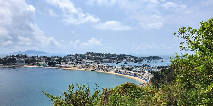 Exploring the hiking trails is one of the best things to do in Cheung Chau Island.