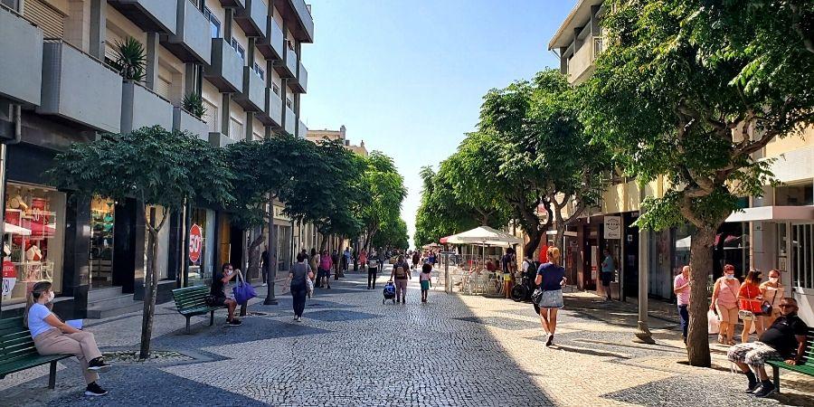 Espinho city center