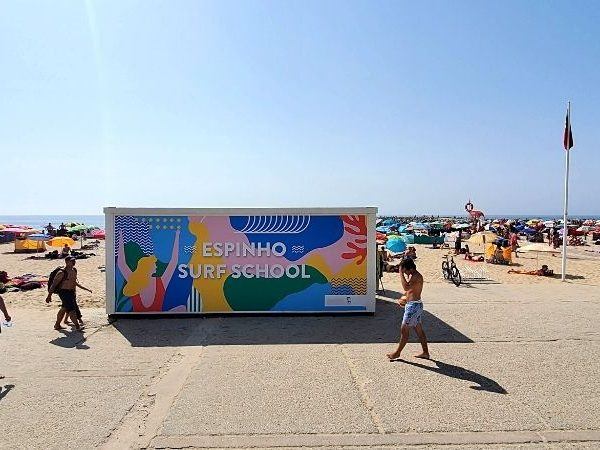 The perfect day in Espinho includes spending time at Praia de Baia.